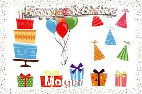 Happy Birthday Wishes for Maigen