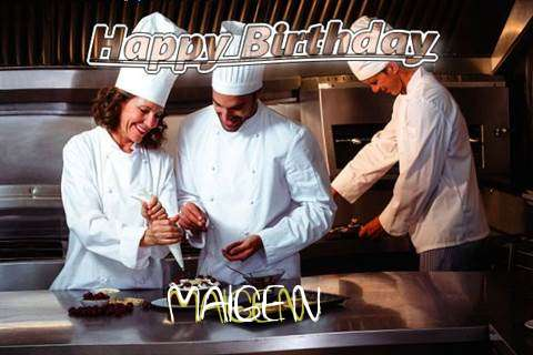 Happy Birthday Cake for Maigen