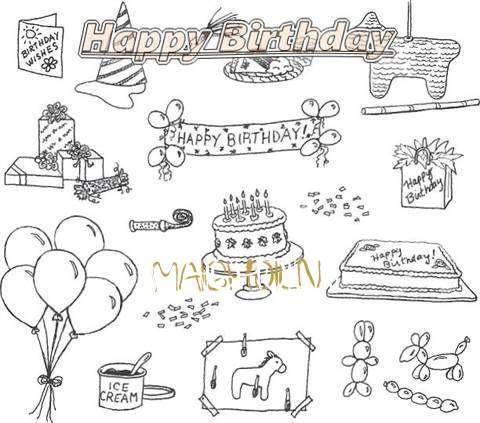 Happy Birthday Cake for Maighdiln
