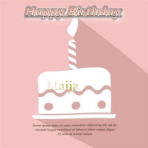 Happy Birthday Maija