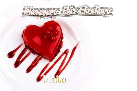 Happy Birthday Wishes for Maika