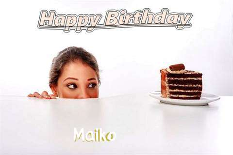 Birthday Wishes with Images of Maiko