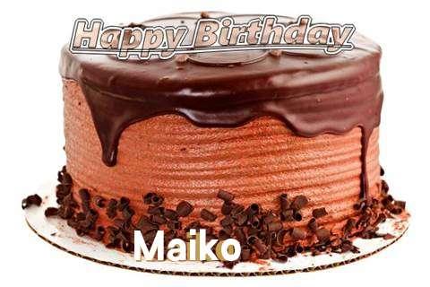 Happy Birthday Wishes for Maiko