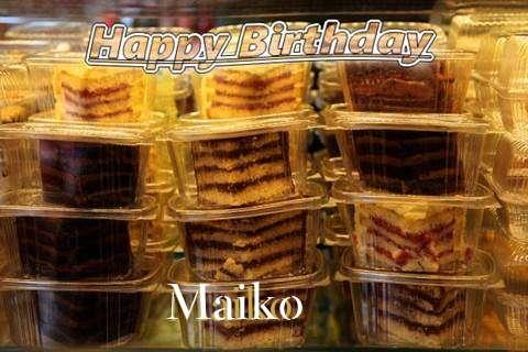 Happy Birthday to You Maiko