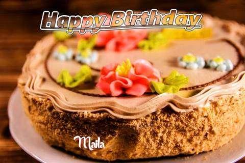 Happy Birthday Maila