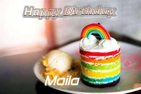 Birthday Images for Maila
