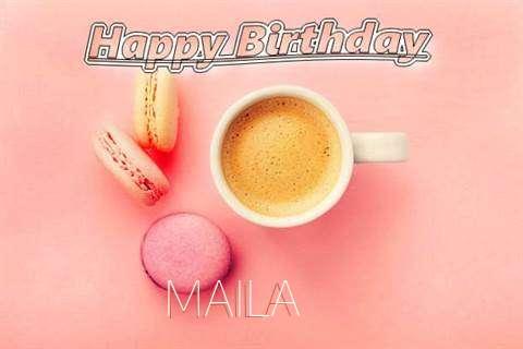 Happy Birthday to You Maila
