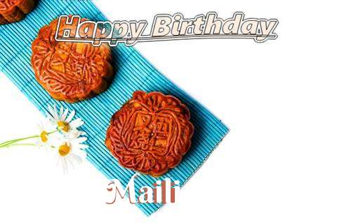 Birthday Wishes with Images of Maili