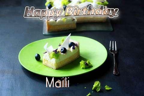 Maili Birthday Celebration