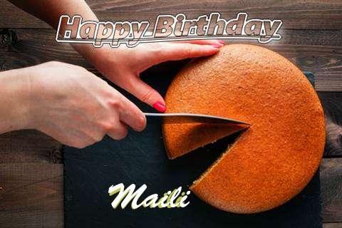 Happy Birthday to You Maili
