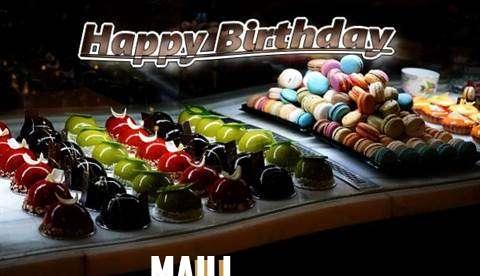 Happy Birthday Cake for Maili