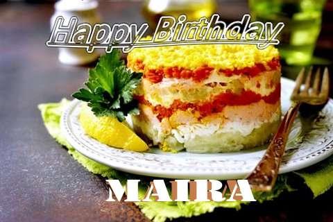 Happy Birthday to You Maira