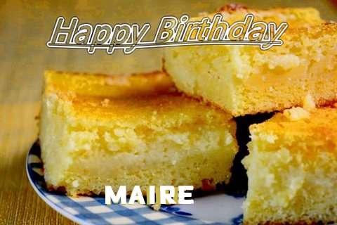 Happy Birthday Maire