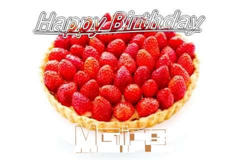 Happy Birthday Maire Cake Image