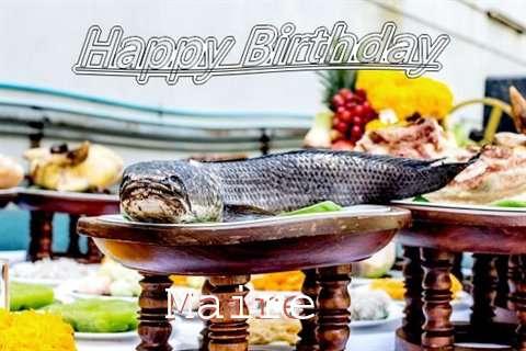 Maire Birthday Celebration