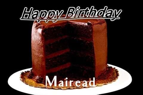 Happy Birthday Mairead Cake Image