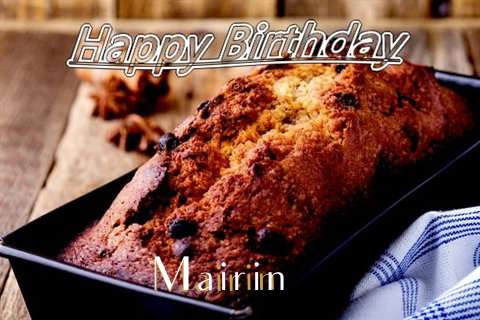 Happy Birthday Wishes for Mairin