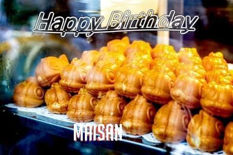 Birthday Wishes with Images of Maisan