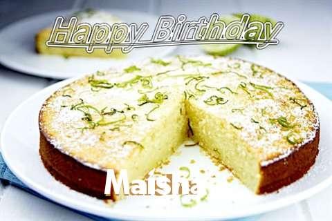 Happy Birthday Maisha