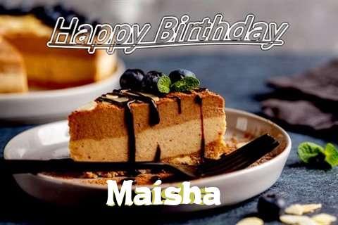 Happy Birthday Maisha Cake Image