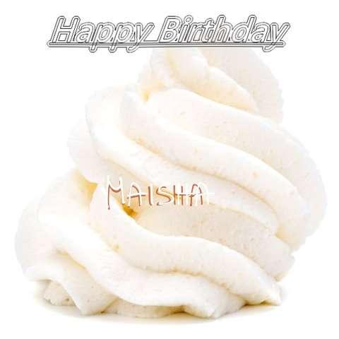 Happy Birthday Wishes for Maisha