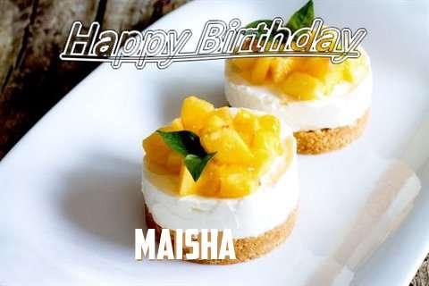 Happy Birthday to You Maisha