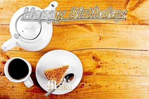 Maison Birthday Celebration