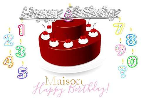 Happy Birthday to You Maison