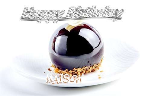 Happy Birthday Cake for Maison