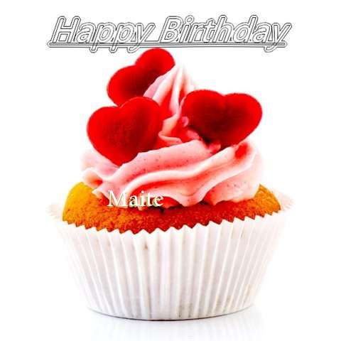 Happy Birthday Maite