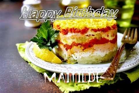 Happy Birthday to You Maitilde