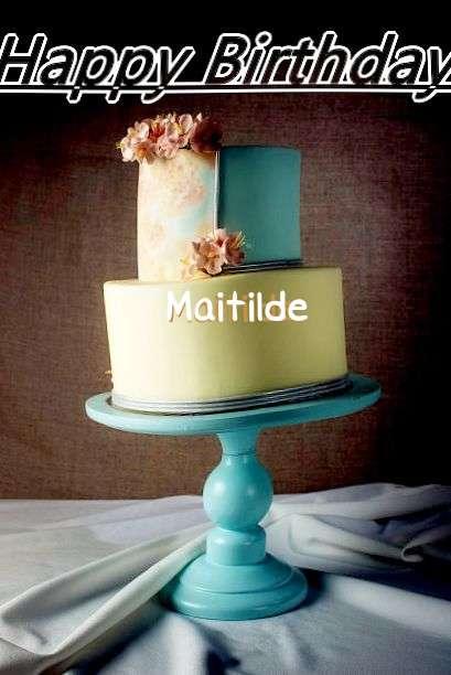 Happy Birthday Cake for Maitilde