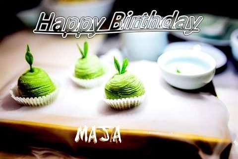Happy Birthday Wishes for Maja