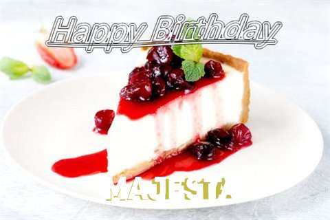 Happy Birthday to You Majesta