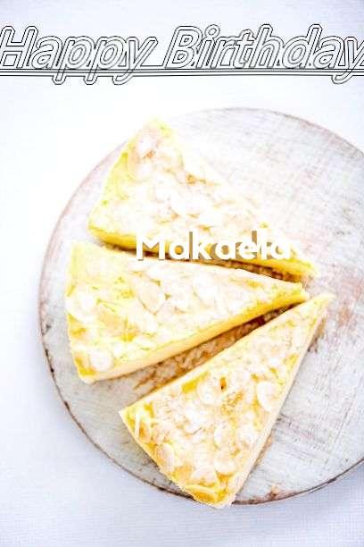 Birthday Wishes with Images of Makaela