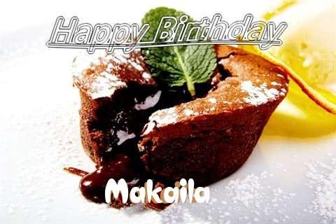 Happy Birthday Wishes for Makaila