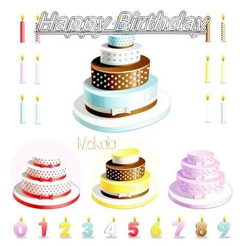 Happy Birthday Wishes for Makala