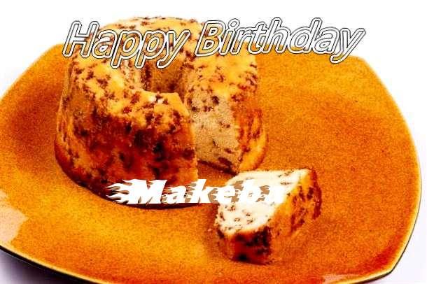 Happy Birthday Cake for Makeba
