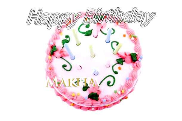 Happy Birthday Cake for Makeia