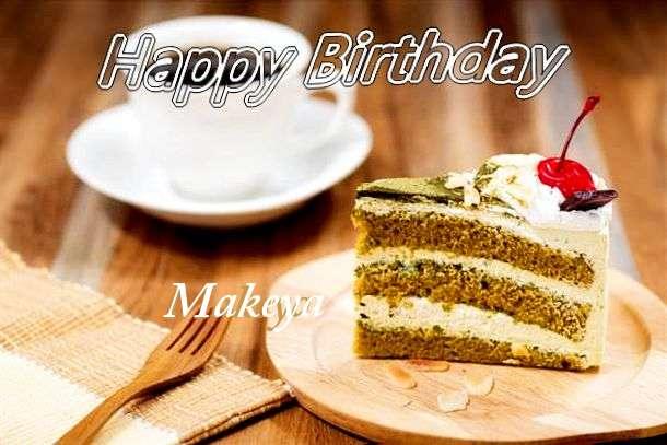 Happy Birthday Makeya