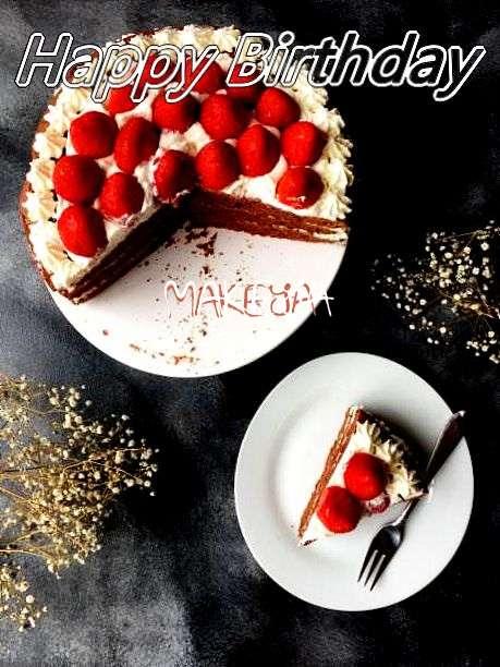 Happy Birthday to You Makeya