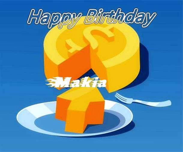 Makia Birthday Celebration