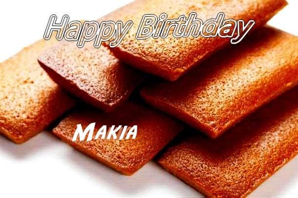 Happy Birthday to You Makia