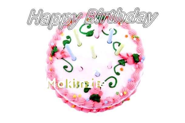 Happy Birthday Cake for Makinzie