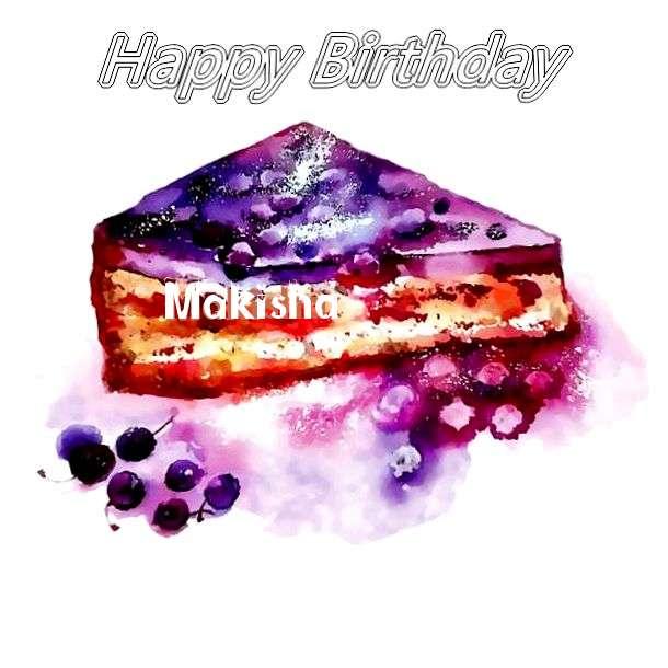 Birthday Wishes with Images of Makisha