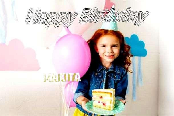 Happy Birthday Makita Cake Image