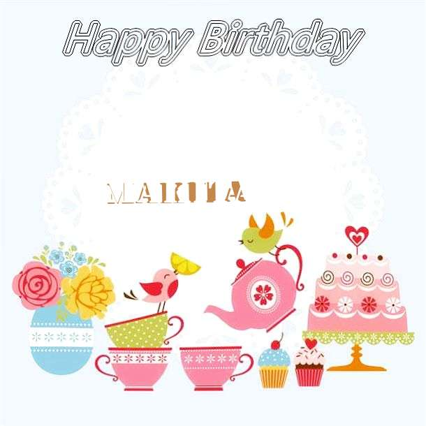 Happy Birthday Wishes for Makita