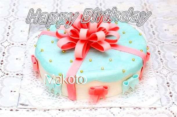 Happy Birthday Wishes for Makoto
