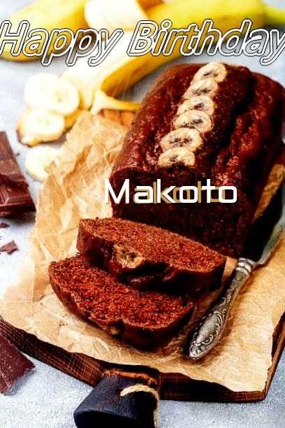 Happy Birthday Cake for Makoto