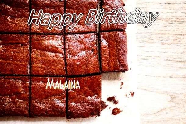 Happy Birthday Malaina